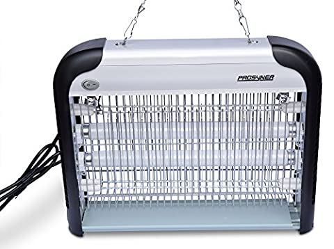 Bug Zapper – UV Light Indoor Electronic Insect Killer and Mosquito Eliminator Instantly Kills Flies Moths Wasps and (Moth Killing)