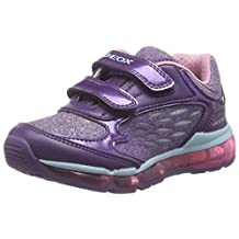 Geox J ANDROID GIRL B Lighted Casual Runner