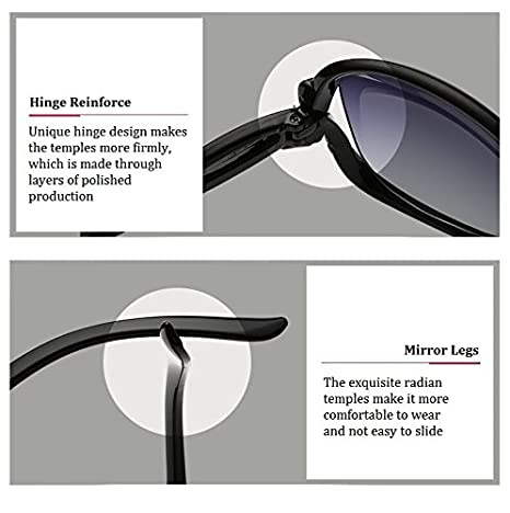 f02bffb753 tocoss (TM) marca de moda funda ojo de gato gafas de sol mujeres hombres reflectante  espejo hembra macho gafas de sol Round Metal marco ovalado gafas, ...