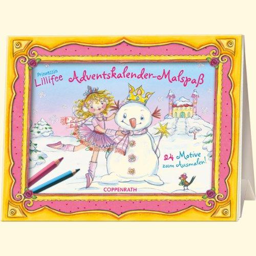 Prinzessin Lillifee Adventskalender-Malspaß: 24 Motive zum Ausmalen!