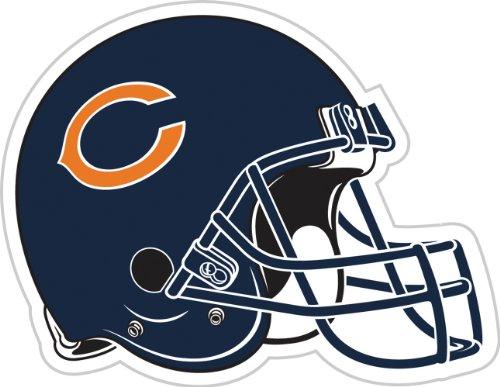- NFL Chicago Bears 12-Inch Vinyl Helmet Magnet