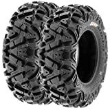 Set of 2 SunF A033 Power.I AT 24x8-12 ATV UTV Off-Road Tires All-Terrain
