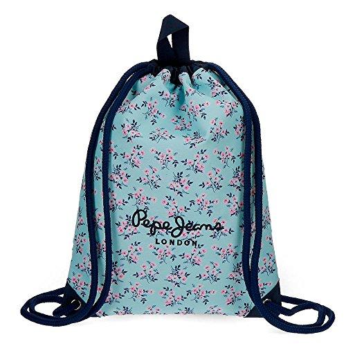 42 3 Pepe Daypack 0 liters cm 2 Blue Denise Jeans Casual Azul w8Iq6g8