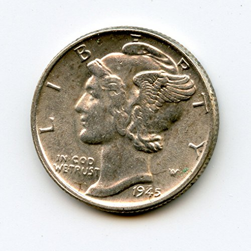 1945 Mercury Dime Dime MS-64
