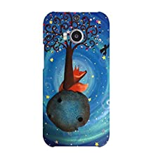 Htc One M8 Cover,Le Little Prince Quotes Phone Case Colorful Beauty Animation Movies The Little Prince Le Petit 3D Protect Case Cover