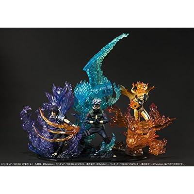 TAMASHII NATIONS Bandai Figuartszero Naruto Uzumaki-Kurama-Kizuna Relation Statue: Toys & Games