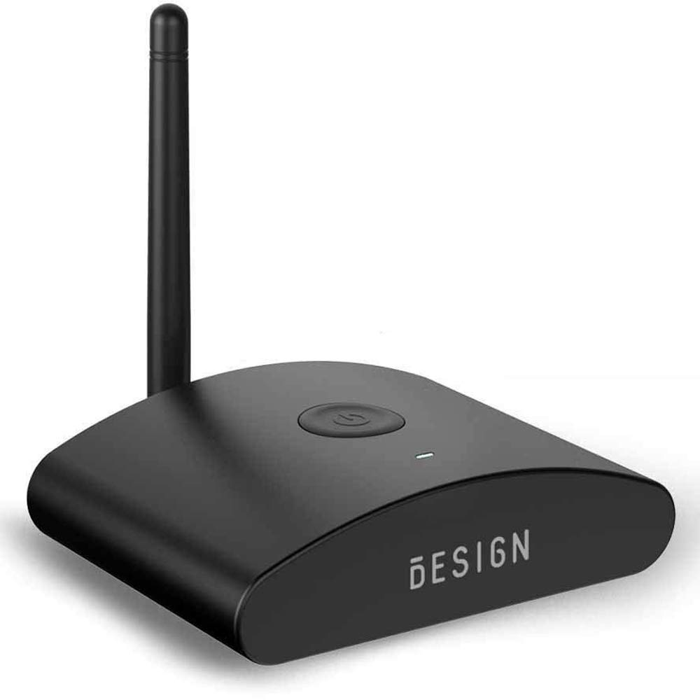 Besign BE-RX Long Range Bluetooth Audio Adapter, Wireless Home HD Music Receiver for Music Streaming, Aptx, Support Optical, Coaxial & 3.5mm Audio by BESIGN