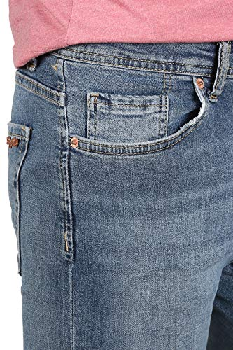 8003 Pild Azul Vaqueros Hombre Skinny para Rogen wX60qdX