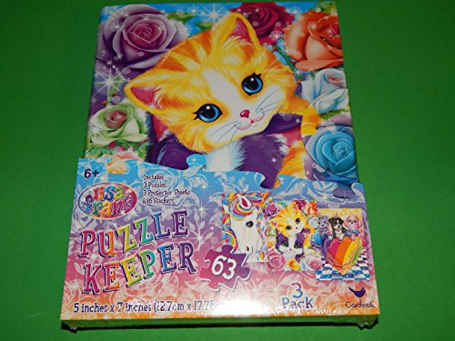 lisa-frank-puzzle-keeper-includes-3-puzzles-3-protective-sheets-and-16-stickers