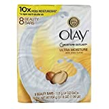 Olay Ultra Moisture Beauty Bars, 4 oz, 8 Count