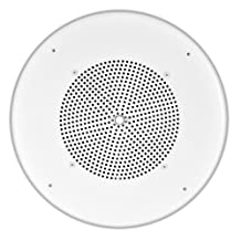 OSD Audio C1090VK 8-Inch In-Ceiling 70V Commercial Speaker with Built-In Volume Control (White,1)
