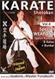 Shotokan Karate Vol.4 Special Weapons Ippon Kumite Kata & Bunkai - Filmed in Japan Keio Dojo by Iwamoto Akiyoshi
