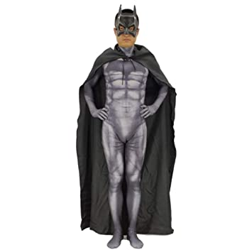 GBRALX Juego de rol Traje Batman Película Cosplay Mono Body ...