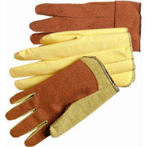 Men'S Xl Brown Stretch Vinyl Impregnated Glove (Work Glove Impregnated)