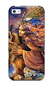 LJF phone case DavidMBernard Case Cover For ipod touch 4 - Retailer Packaging Me And My Friend Protective Case