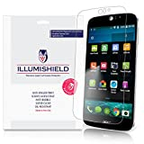 iLLumiShield - Acer Liquid Jade Z Screen Protector Japanese Ultra Clear HD Film with Anti-Bubble and Anti-Fingerprint - High Quality Invisible Shield - Lifetime Warranty - [3-Pack]