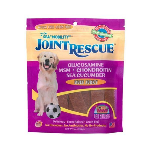 Sea Mobility Beef Jerky - Ark Naturals Sea Mobility Joint Rescue Beef Jerky - 9 oz (Pack of 3)