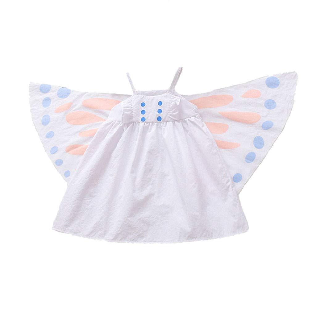 OPAKY Disfraz de Princesa Aurora Vestido Vestido sin Mangas ...