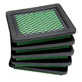 HEYZLASS 5Pack 17211-zl8-023 Air Filter for Honda gc160 gcv160 gc190 gcv190 Engine Element and More Lawn Mower Air Cleaner
