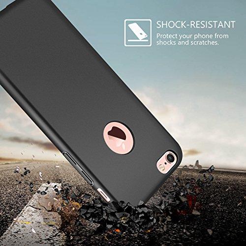 3X Coque iPhone 6/6s , ivencase PC Matière [Ultra Mince] [Ultra Léger] Anti-Rayures Anti-dérapante iPhone 6/6s Case Coque Housse Bumper Cover pour iPhone 6/6s-4.7 pouces-Noir,Bleu,Rouge