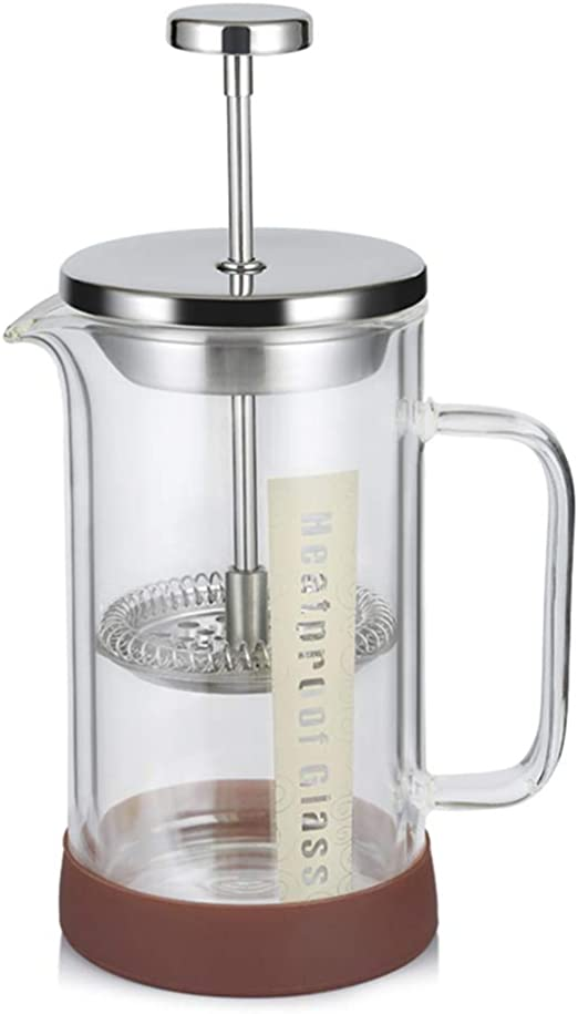 JINRU French Press Coffee & Tea Maker Paquete Completo | 12 Oz ...