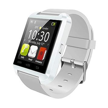 MRLIFY U80 Bluetooth Smart Watch con cámara, Reloj de Pulsera Inteligente con Ranura para Tarjeta SIM, Desbloqueado Impermeable Fitness Tracker Sport Watch ...
