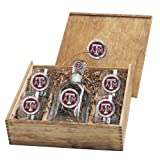 Texas A&M Aggies Capitol Decanter Box Set