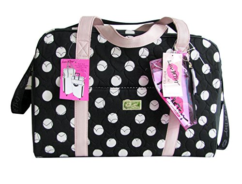 Betsey Johnson Luv Betsey Quilted Polka Dot Weekender Bag
