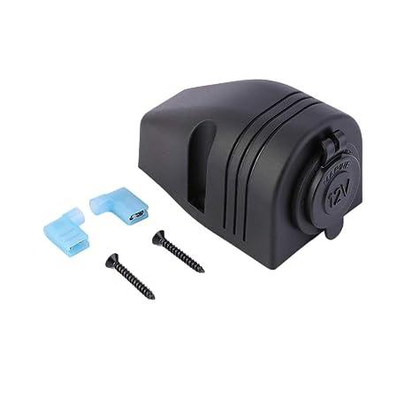 Adaptador de corriente duradero resistente al agua del barco del carro del cigarrillo 12V encendedor del coche zócalo