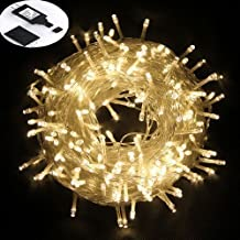 50M/164FT Fairy String Light Waterproof Bedroom Led String Light Indoor Lights,300LED, 8Mode, Safe Voltage Perfect Home,Garden,XMAS New Year Decoration(Warm White)