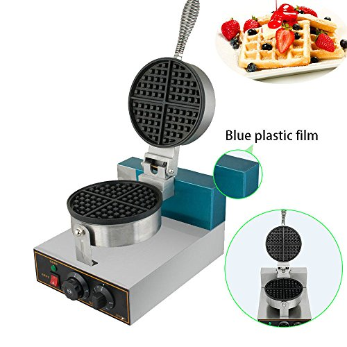 Electric Waffle Bake Machine- Stainless Steel 110V Commercia