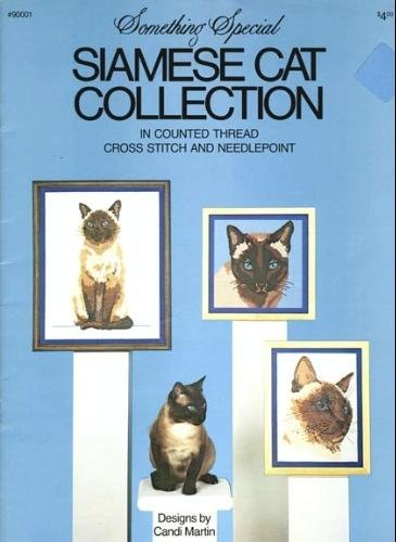 Siamese Cat Collection: In Counted Thread Cross Stitch and Needlepoint
