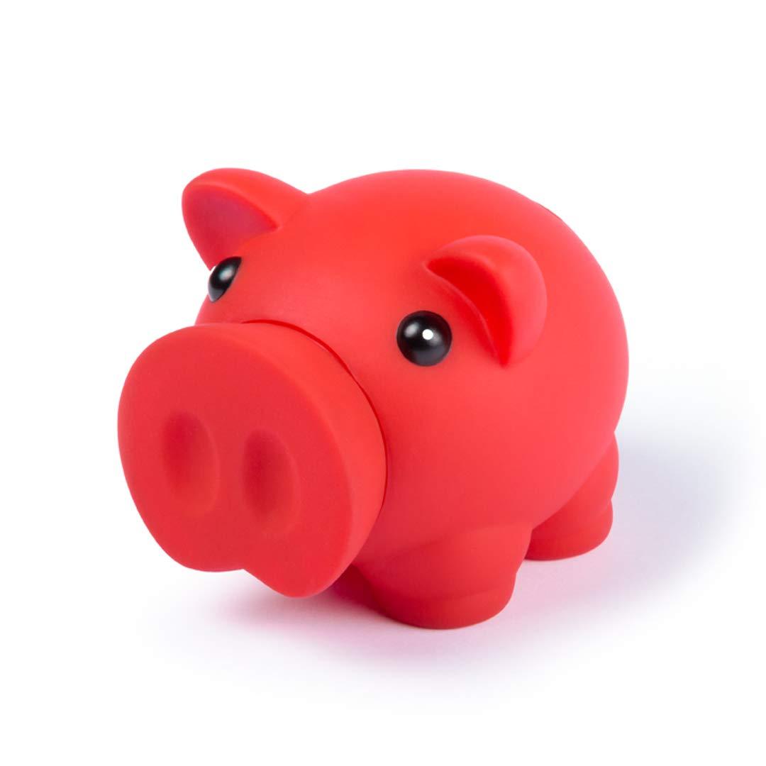 Lote DE 10 HUCHAS-Hucha cerdo con Acabado DE Goma-Colores ...