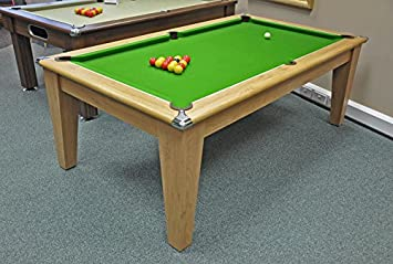 Classic Pool Dining Table Ft Ft Amazoncouk Sports Outdoors - Pool dining table 7ft
