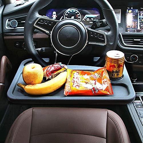 JeVenis Auto-Lenkradablage für Laptop und Auto/Tablet und Lebensmittel-Lenkrad, multifunktional, tragbar, für das Auto, für Getränke, Lebensmittel, Laptop, Schreibtisch