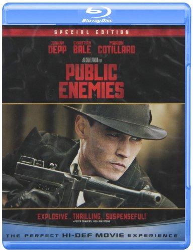 Universal Mc-public Enemies [blu Ray W/movie Cash/ws/2discs]