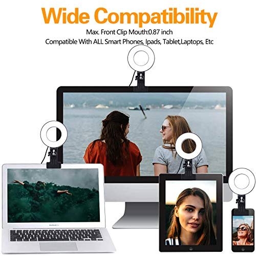 Video Conference Lighting Kit for Laptop PC - Zoom Light for Computer 3.5
