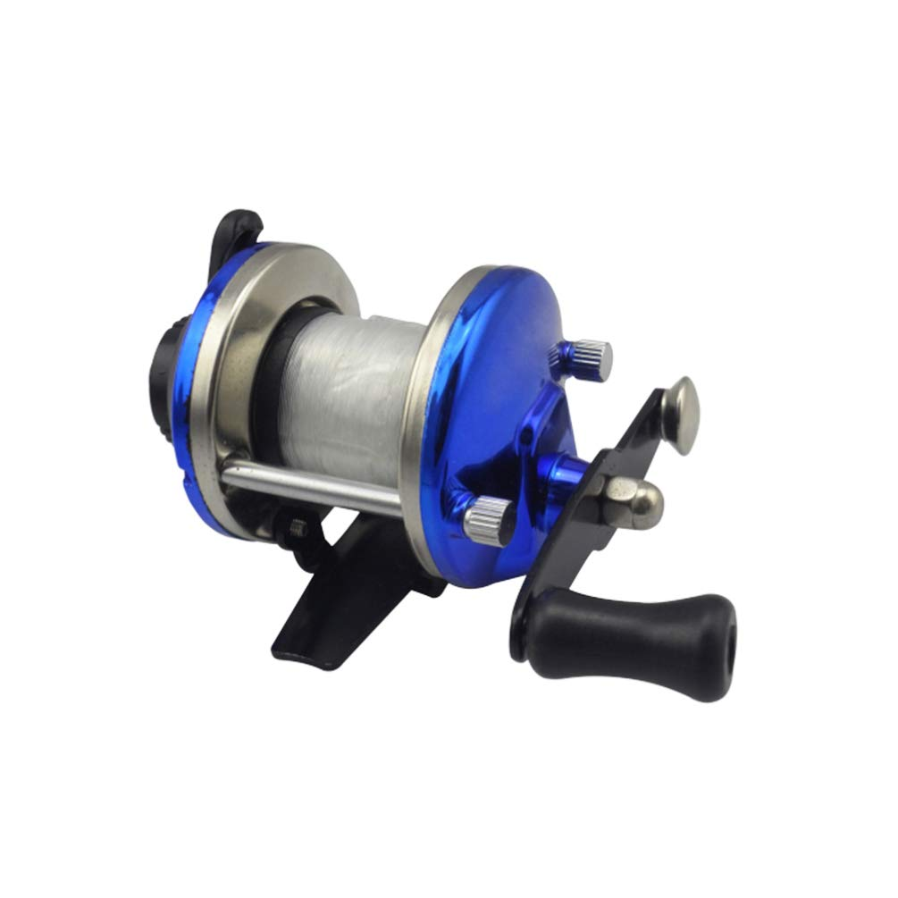 Azul LIOOBO Carrete de Pesca Meta Spinning Carrete de Pesca Ligero para la Pesca de Agua Salada de Agua Dulce