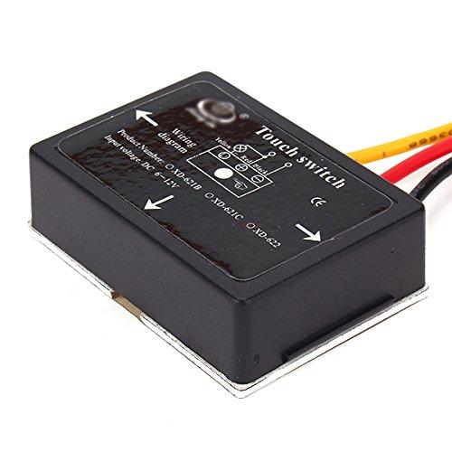 4モードdc6 – 12 V On / OffバスルームミラーisolatedタッチスイッチセンサーLEDライト   B01E58IPBS