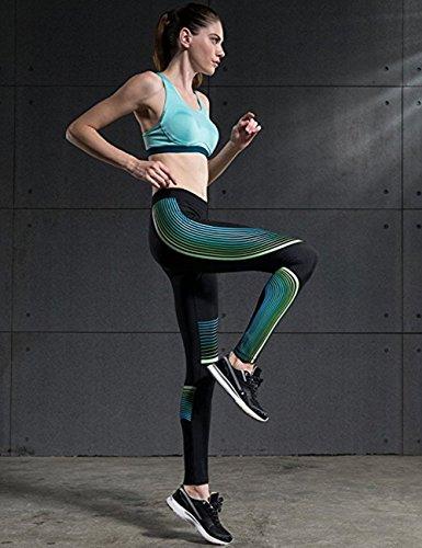 Yaxun - Medias deportivas - para mujer Azul