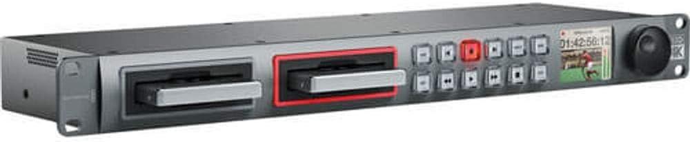 Amazon Com Blackmagic Design Hyperdeck Studio Pro 2 1ru File Based Video Recorder Computers Accessories