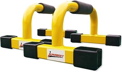 Juperbsky Push-Up Stands Bars Parallettes Set for Workout Exercise