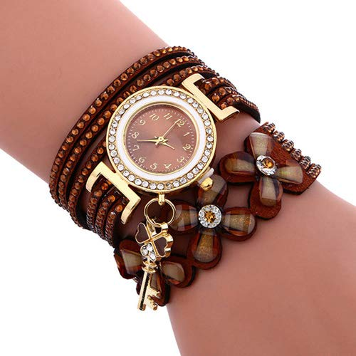 New Women Watches New Luxury Casual Analog Alloy Quartz Watch PU Leather Bracelet Watches Gift Relogio