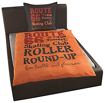 Route 66 Mikrofaser Bettwäsche Set 2 Teilig Design 035 Amazon