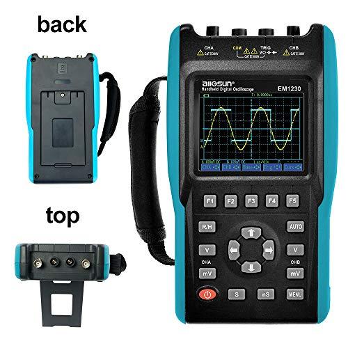 2 in 1 Handheld Digital Storage Oscilloscope Digital Multimeter Color