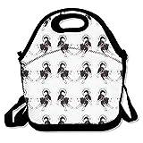 Siberian Husky Dog Lunch Bag One Size