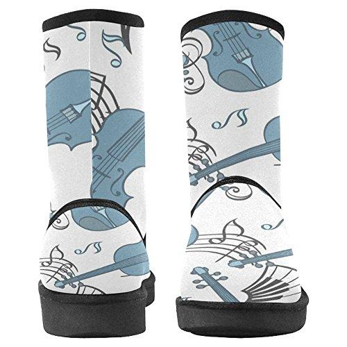 InterestPrint Womens Snow Boots Unique Designed Comfort Winter Boots Multi 17 xT32Z