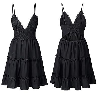 LJYT Vestido Vintage De Los Años 50 para Mujer, Falda Sexy De ...