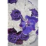 Artificial-Purple-Vanda-Orchid-Allium-and-Rose-Bridal-Wedding-Bouquet