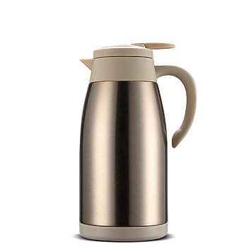 La Botella Moderna del Termo del pote del café del Acero ...